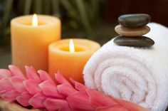 Calming & soothing spa items