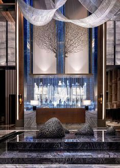 hotel lobby Hotels are magical places. Get - hotel Luxury Hotel Design, Hotel Lobby Design, Luxury Home Decor, Luxury Hotels, Hotel Reception, Reception Design, Reception Counter, Lobby Furniture, Counter Design