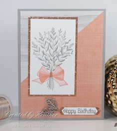Playing with Papercrafting: Wishing You Well for The Paper Players Birthday Cards For Women, Handmade Birthday Cards, Wish You Well, Stamping Up Cards, Get Well Cards, Card Patterns, Cards For Friends, Fall Cards, Sympathy Cards