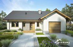 Facade House, Small House Plans, Modern House Design, Sweet Home, Shed, Outdoor Structures, Architecture, Outdoor Decor, Home Decor