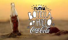 A Garrafa de gelo da Coca-Cola