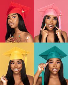 Girl Graduation Pictures, Graduation Look, Graduation Picture Poses, Graduation Photoshoot, Senior Picture Outfits, Grad Pics, College Graduation, Senior Pics, Senior Pictures