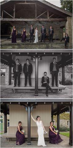 Utopia Wedding - Broughton Hall - Skipton - North Yorkshire Wedding - Quirky Wedding- Paul Joseph Photography - Groom and Groomsmen - Bride and Brides and Bridesmaids www.pauljosephphotography.co.uk