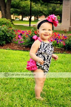 Sewing Pattern Ruffled Sun Suit Romper  PDF by littlelizardking, $7.25