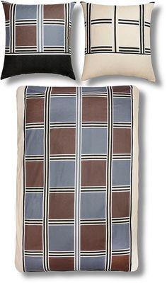 Schöne Bettwäsche »Rico« der Marke my home im zeitlosem Karo-Design und in modischen Farben. Der Wendekissenbezug ist mit einer vielseitigen Vorder- und Rückseite versehen und bringt Abwechslung in Ihr Schlafzimmer. Der Kissenbezug und Bettbezug sind sehr hautfreundlich und kommen mit einem Knopfverschluss. Diese Bettwäsche ist ein absolutes Must-Have bei sommerlichen Temperaturen. Artikeldeta...