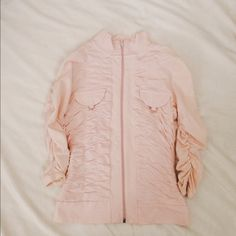 pink ruffled cardigan offers welcome pink cardigan . Let me know if you have any questions💕 Tops