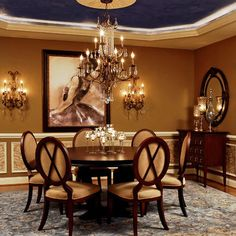 1000 Images About Dining Room On Pinterest Dining Rooms Stencils And Wain