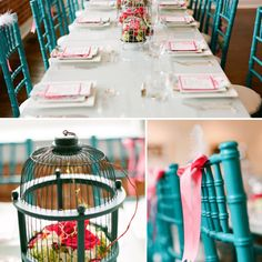 Nesting theme for a baby shower brunch