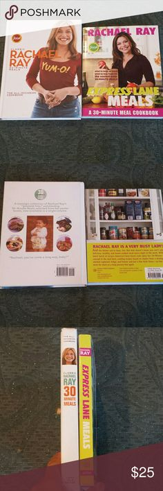 Rachael (Rachel) Ray cookbook lot Two Rachael (Rachel) Ray cookbooks. Express Lane Meals and Classic Rachael Ray 30-minute meals Other