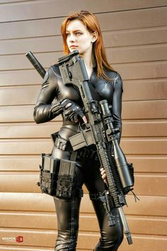 Girl with a Weapon kenwell depaul adult care Military girl . Women in the military . Women with guns . Girls with weapons Warrior Girl, Fantasy Warrior, Military Girl, Female Soldier, Army Soldier, Military Women, N Girls, Army Girls, Redheads