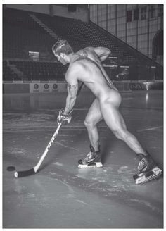 Well that's one way to play hockey! Lol