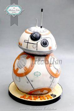BB8 3D Cake by MLADMAN