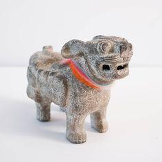 Vintage Foo Dog Statue Foo Dog, Religious Art, Vintage Ceramic, Art Reproductions, Lion Sculpture, Carving, Statue, Antiques, Dogs