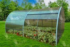 Купить теплицу с открывающейся крышей Тюльпан в интернет-магазине