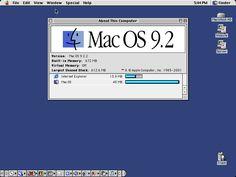 Last real Mac OS 9