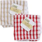 """The Home Store Terry Dish Cloths, 12x12""""   $1"""