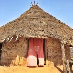 Home is where the heart is - a home in the village of Sara Samba Diabba in Senegal's Kolda region.  (Ricci Shryock - photographer   video journalist)