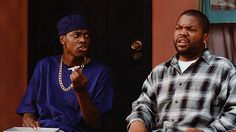 """Friday, a """"must see"""" in most African American homes. This movie is all about stereotypes. Craig (Ice Cube) and Smokey (Chris Tucker) play black men without jobs. The two sit on a porch for an entire day, smoke weed, and observe the people in their neighborhood. This movie, though funny, definitely reinforces the stereotype that all black men are broke, jobless, do drugs, lazy, and have no goals and ambition. Link:http://easyloungin.com/forum/topic.php?bb_attachments=485448=32645"""