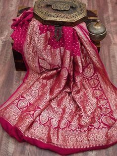 Georgette Saree Party Wear, Georgette Sarees, Handloom Saree, Silk Sarees, Red Saree Wedding, Engagement Saree, Banaras Sarees, Indian Outfits, Indian Clothes