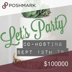 🎉PARTY TIME🎉 Co-Hosting my FIRST Posh Party 9/13 🍾💥JOIN ME 💥🍾  Hosting my very FIRST Posh Party Sept 13th at 7pm!!! Can't wait to grab some snazzy host picks!! 💃🏼👗👛👠👢  Drop me your closet below ... tag your PFF's & get ready to get your PARTAY on 🎉🛍🎉  🔆Posh compliment closets only please🔆 Other