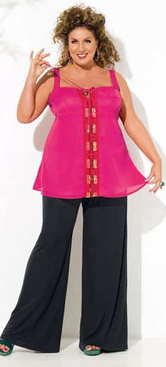 Plus size cruise wear for women / with international shipping - la redoute prshots - click to read at http://boomerinas.com/2013/01/plus-size-clothing-for-women-with-international-shipping/