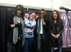 Heath, Yoshiki and Pata. X Japan