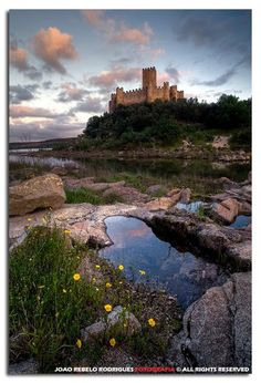Another wonderful Templar castle! - Almourol - Portugal