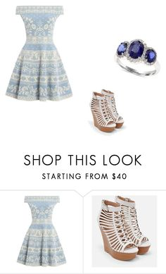 """""""Untitled #1413"""" by crimsoncapo ❤ liked on Polyvore featuring Alexander McQueen, JustFab and Effy Jewelry"""