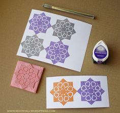islamic art geometric arabic stamp carving block - ختم نقوش إسلامية Stamp Carving, My Stamp, Islamic Art, Stamps, Seals, Stamping, Postage Stamps, Stamp