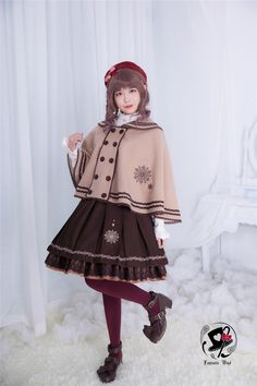 Rabbit Teeth ~~The Coagulation Crystal~~ Series Kawaii Fashion, Lolita Fashion, Cute Fashion, Fashion Outfits, Fasion, Dress For You, Japanese Outfits, Kawaii Clothes, Elegant Outfit