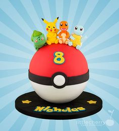 Pokeball Cake More