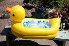 Rubber Ducky Shower Idea Duck