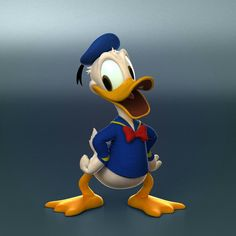 ArtStation - Donald Duck of disney, Sgwa Yang