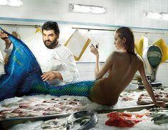 "#Lavazza 2014 calendar: Antonino Cannavacciuolo ""Fresh Fish"" July - August"