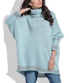 Loving this Pistachio Cowl Neck Sweater on #zulily! #zulilyfinds