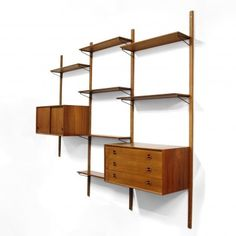 Located using retrostart.com > Wall Unit by Unknown Designer for Unknown Manufacturer