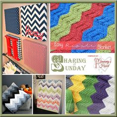 Home with Chevrons …This Sharing it Sunday Home with Chevrons!Chevrons and ripples are so pretty. They are fresh. They have acrisp clean look about them. In my opinion, they can be used in…