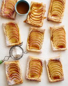 Vanilla apple tarts from What's Gaby Cooking