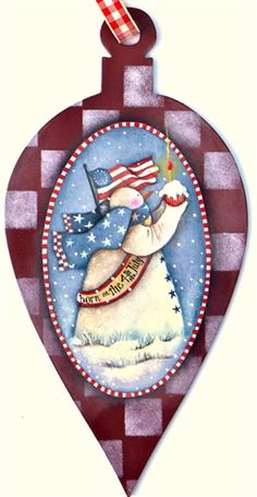 Lynne Andrews Born on the fourth of July Pattern Packet