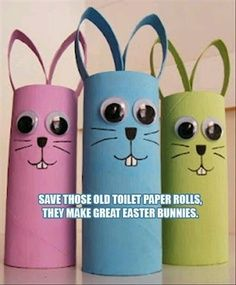 paint, construction paper, a Sharpie and toilet paper rolls...how easy!!