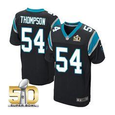 Carolina Panthers Braxton Deaver ELITE Jerseys