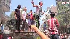أولتراس نهضاوي يشعل مسيرة أمبابة بالهتافات واشعال الشماريخ