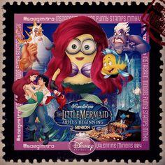 Disney Princess Minions ~ Little Mermaid