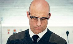 There's a possibility that he could become Arthur [in the next film], that would be interesting. But actually I'd probably prefer it if he stayed Merlin, and that he and Eggsy had further adventures. Best Spy Movies, Mark Strong, Next Film, Pictures Of People, Man Crush, Movie Tv, Tv Shows, Portrait