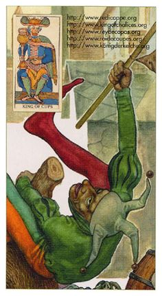 King of Cups - Tarot of the Third Millenium by Iassen Ghiuselev Card Reading, Free Reading, Tarot Card Predictions, King Of Cups, Online Journal, Tarot Decks, Tarot Cards, Medieval, Illustration