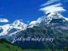 Music lyric video of the popular song by Don Moen: God will make a way when there seems to be no way. Praise And Worship Music, Praise Songs, Worship Songs, Don Moen, Spiritual Music, Southern Gospel Music, Christian Music Videos, Inspirational Music, Good Music