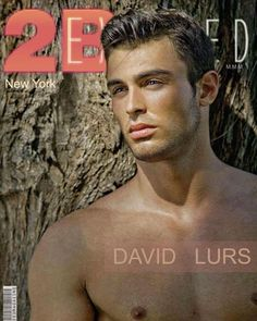 New 2BEXPOSED cover  DAVID LURS  HAPPY BIRTHDAY to agent ANDREI KORNIV!