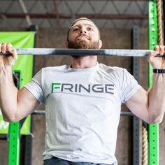 Two Tone Fringe Logo T-Shirt