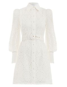Explore the latest collection of designer resort wear dresses & cover ups with ZIMMERMANN. Find the one that suits your style by shopping online or instore. Types Of Dresses, Cute Dresses, 1960s Fashion, Korean Fashion, Older Women Fashion, Womens Fashion, Cheap Fashion, Dress Outfits, Fashion Outfits