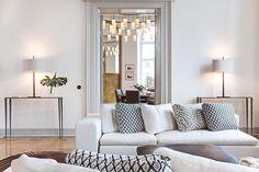 Chic living room- Hemnet Inspiration